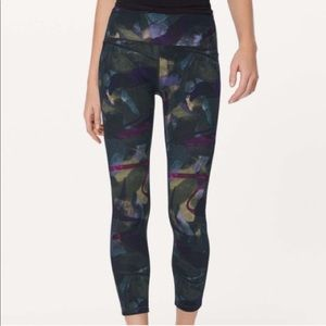Lululemon | Aura Chrome Train Times 7/8 Leggings